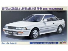 Hasegawa - Toyota Corolla Levin AE92 GT Apex Early Version (1987), 1/24, 21136