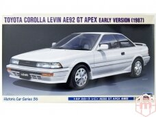 Hasegawa - Toyota Corolla Levin AE92 GT Apex Early Version (1987), Mastelis: 1/24, 21136