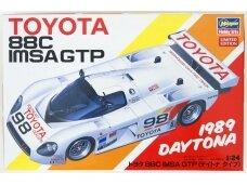 Hasegawa - Toyota 88C IMSA GTP 1989 Daytona Type, Mastelis: 1/24, 20442