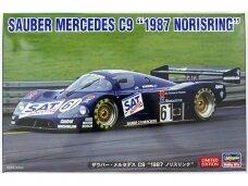 """Hasegawa - Sauber Mercedes C9 """"1987 Norisring"""", Mastelis: 1/24, 20456"""