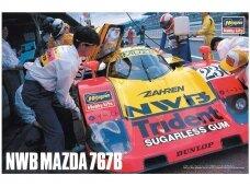 Hasegawa - NWB Mazda 767B, Mastelis: 1/24, 20446