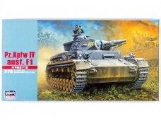 Hasegawa - Pz Kpfw IV Ausf. F1, 1/72, 31141