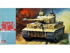 Hasegawa - Pz.Kpfw VI Tiger I Ausf. E 'Last Model', 1/72, 31139