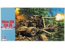Hasegawa - 88 mm Flak 36, 1/72, 31138