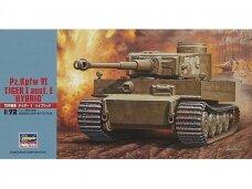Hasegawa - Pz.Kpfw VI Tiger I Ausf. E 'Hybrid', 1/72, 31155