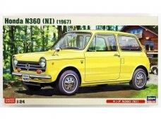 Hasegawa - Honda N360 (NI) (1967) Limited Edition, Mastelis: 1/24, 20285