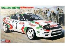 Hasegawa - Toyota Celica Turbo 4WD 1993 Monte Carlo Rally, Mastelis: 1/24, 20401