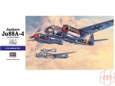 Hasegawa - Junkers Ju88A-4, 1/72, 00555
