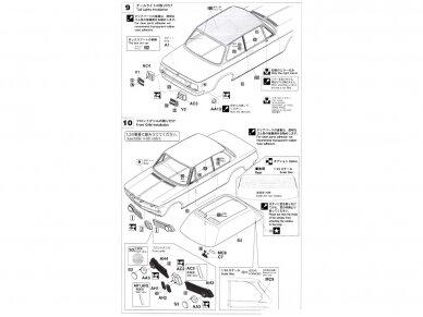 Hasegawa - BMW 2002 Turbo, Mastelis: 1/24, 21124, HC24 11
