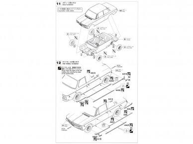 Hasegawa - BMW 2002 Turbo, Mastelis: 1/24, 21124, HC24 12