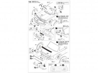 Hasegawa - BMW 2002 Turbo, Mastelis: 1/24, 21124, HC24 13