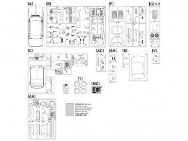 Hasegawa - BMW 2002 Turbo, Mastelis: 1/24, 21124, HC24 15