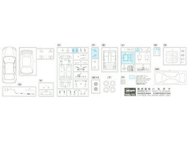 Hasegawa - Honda Civic ferio VTi, Scale: 1/24, 20256 12