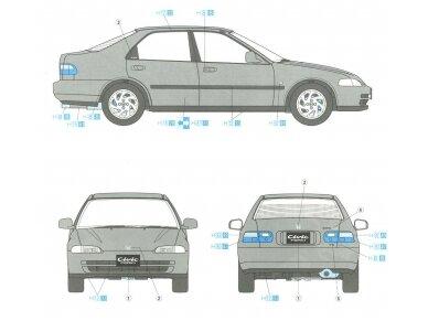 Hasegawa - Honda Civic ferio VTi, Scale: 1/24, 20256 6