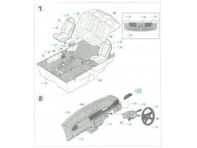 Hasegawa - Honda Civic ferio VTi, Mastelis: 1/24, 20256 7