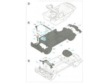 Hasegawa - Honda Civic ferio VTi, Mastelis: 1/24, 20256 8