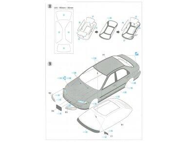 Hasegawa - Honda Civic ferio VTi, Mastelis: 1/24, 20256 10
