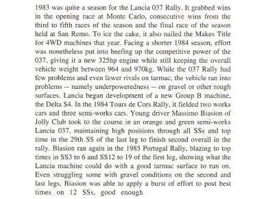 Hasegawa - Lancia 037 Rally Jolly Club, Mastelis: 1/24, 20399 3