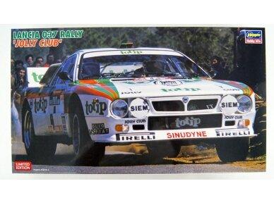 Hasegawa - Lancia 037 Rally Jolly Club, Scale: 1/24, 20399