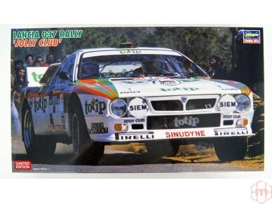 Hasegawa - Lancia 037 Rally Jolly Club, Mastelis: 1/24, 20399