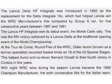 Hasegawa - Lancia Super Delta (1992 WRC Makes Champion), Scale: 1/24, 25015 2