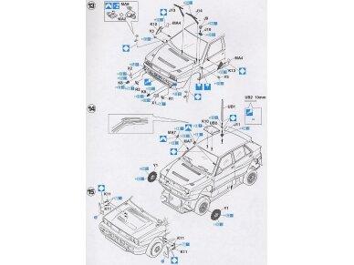 Hasegawa - Lancia Super Delta (1992 WRC Makes Champion), Scale: 1/24, 25015 12
