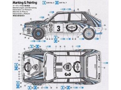 Hasegawa - Lancia Super Delta (1992 WRC Makes Champion), Scale: 1/24, 25015 6