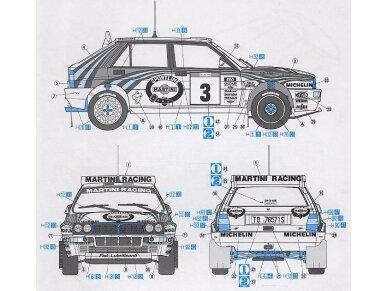 Hasegawa - Lancia Super Delta (1992 WRC Makes Champion), Scale: 1/24, 25015 7