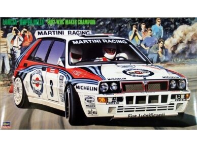 Hasegawa - Lancia Super Delta (1992 WRC Makes Champion), Scale: 1/24, 25015
