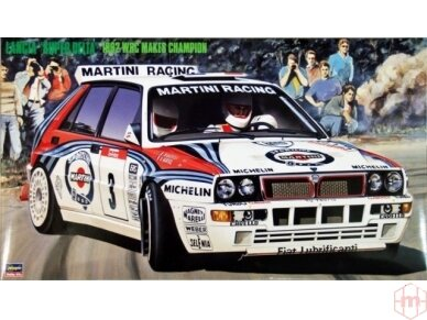 Hasegawa - Lancia Super Delta (1992 WRC Makes Champion), Scale: 1/24, 25015