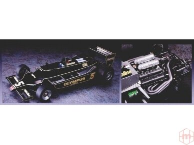Hasegawa - Lotus F1 1978 German GP With full decals, Scale: 1/20, 23203 2