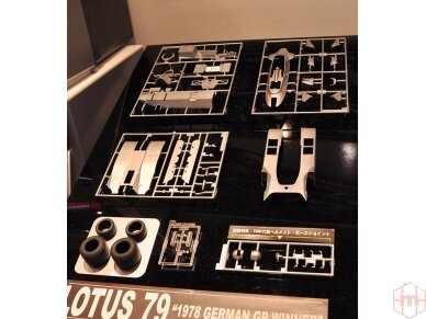 Hasegawa - Lotus F1 1978 German GP With full decals, Scale: 1/20, 23203 4