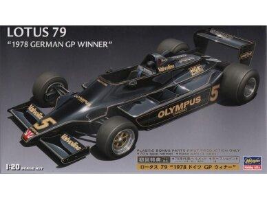 Hasegawa - Lotus F1 1978 German GP su pilnom dekolėm , Mastelis: 1/20, 23203