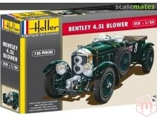 Heller - Bentley 4.5L Blower, Scale: 1/24, 80722