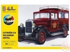 Heller - Citroėn C4 Splendid Hōtel, Dovanų komplektas, 1/24, 56713