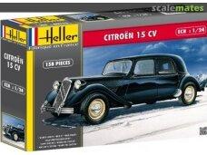 Heller - Citroen 15 CV, Mastelis: 1/24, 80763