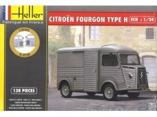 Heller - Citroen Fourgon Type H, Scale: 1/24, 80768