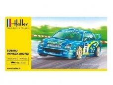 Heller - Subaru Impreza WRC'02, Dovanų komplektas, 1/43, 56199