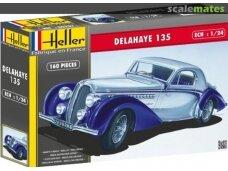 Heller - Delahaye 135, Mastelis: 1/24, 80707