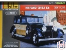 Heller - Hispano Suiza K6, Scale: 1/24, 80704