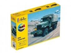 Heller - GMC US-Truck - Dovanų komplektas, 1/35, 57121