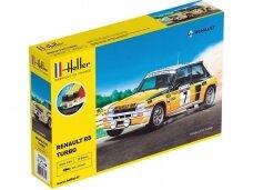 Heller - Renault R5 Turbo dovanų komplektas, 1/24, 56717