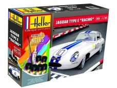 Heller - Jaguar Type E leMans - Starter Set, Scale: 1/24, 56783