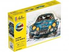 Heller - Starter Set Alpine A110 1600 S dovanų komplektas, 1/24, 56745