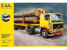Heller - Volvo F12-20 & Timber Semi Trailer Starter Set, 1/32, 57704