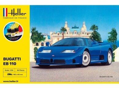 Heller - Bugatti EB 110 dovanų komplektas, 1/24, 56738