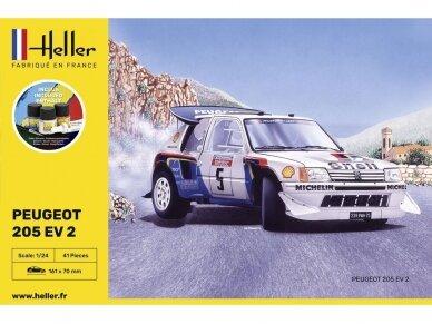 Heller - Peugeot 205 EV2 Starter Set, 1/24, 56716