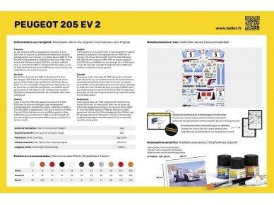 Heller - Peugeot 205 EV2 Starter Set, 1/24, 56716 2