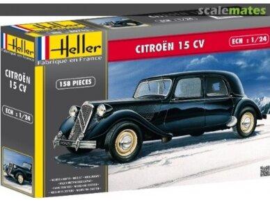 Heller - Citroen 15 CV, Scale: 1/24, 80763