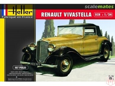Heller - Renault Vivastella, Mastelis: 1/24, 80724